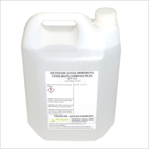 99.5% 5 Ltr Diethylene Glycol Monobutyl Ether Butyl Carbitol