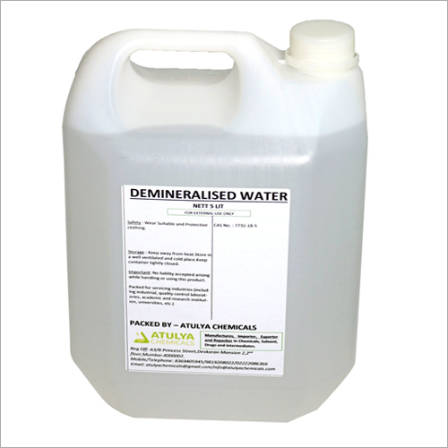 5 Ltr Demineralised Water
