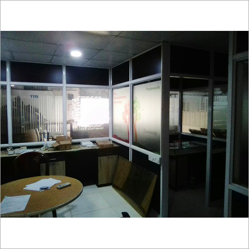 Aluminium Glass Partition Frame