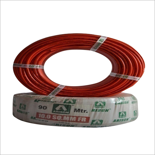 10.0 SQ.MM FR PVC Insulated Wire