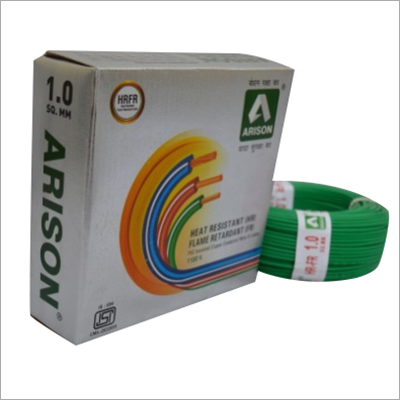 1.0 SQ.MM Heat Resistant PVC Insulated Wire
