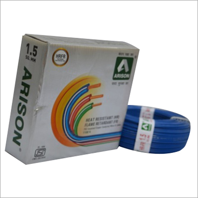 1.5 SQ.MM Heat Resistant PVC Insulated Wire