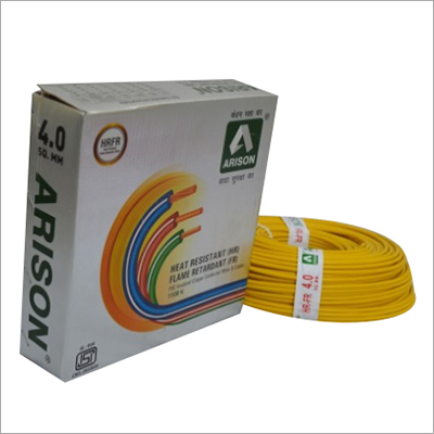 4.0 SQ.MM Heat Resistant PVC Insulated electric wire