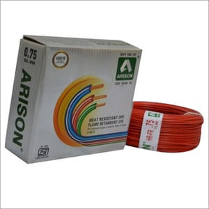 0.75 SQ.MM Heat Resistant PVC Insulated Wire