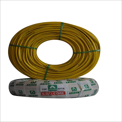 2 Core 6.0 SQ.MM PVC Insulated Wire
