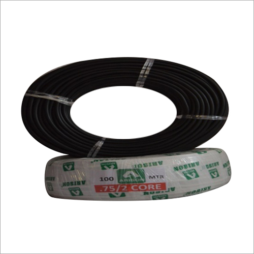 2 Core 0.75 SQ.MM PVC Insulated Wire