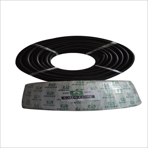 4 Core 6.0 SQ.MM PVC Insulated Wire