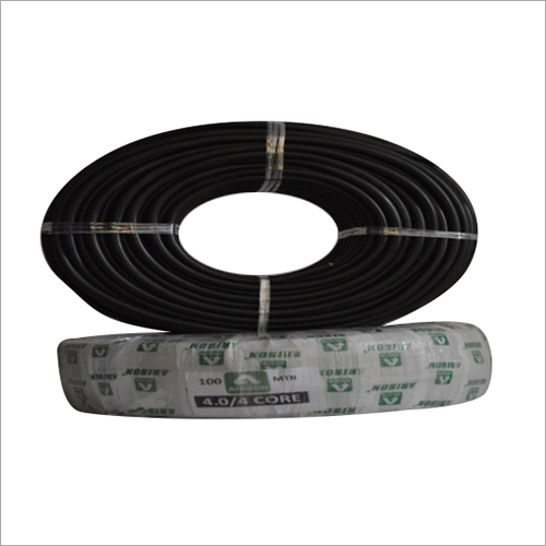 4 SQ MM 4.0 CORE Copper  Round Cable