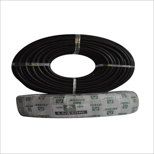 4 SQ MM 4.0 CORE Copper  Round Cable
