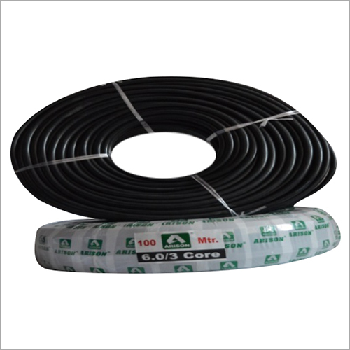 3 Core 6.0 SQ.MM PVC Insulated Wire