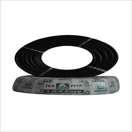 4 Core 1.0 SQ.MM PVC Insulated Wire