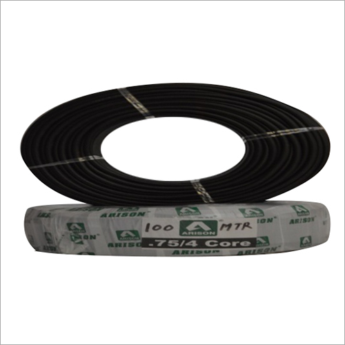 4 Core 0.75 SQ.MM PVC Insulated Wire