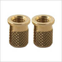 Round Threaded Brass Inserts