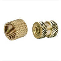 Knurling Brass Insert