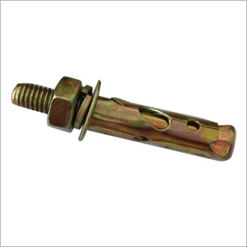 Brass Wedge Anchor Bolt