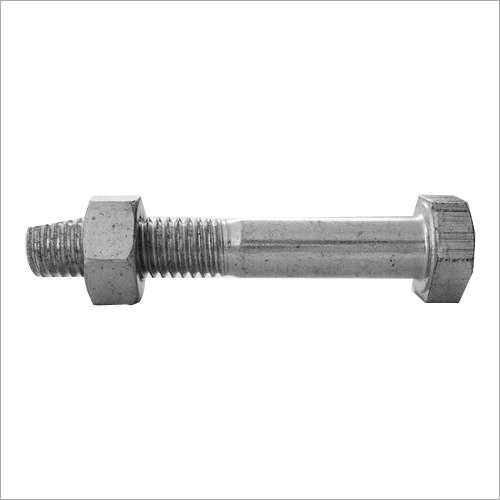 Galvanized Mild Steel Bolt Nut