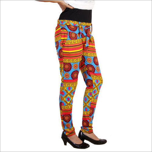 Women Cotton Printed Jegging