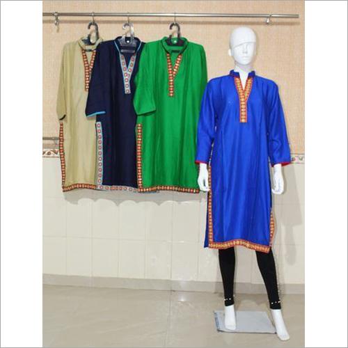Women Premium Rayon Plain Kurti