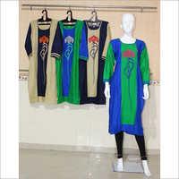Women Rayon Embroidery Kurti