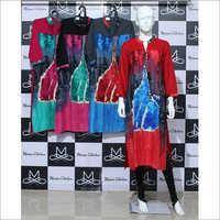 Women Rayon Sparkle Kurti