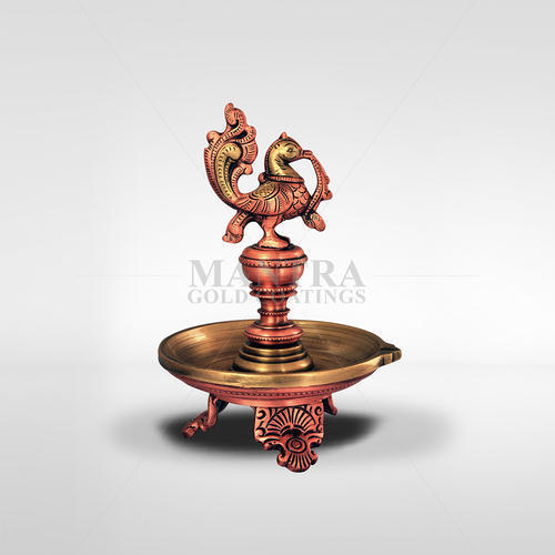 Bronze Annam Lamp with Three Leg