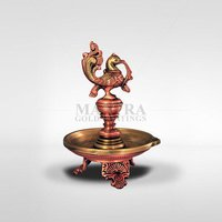 Bronze Annam Lamp with Three Leg