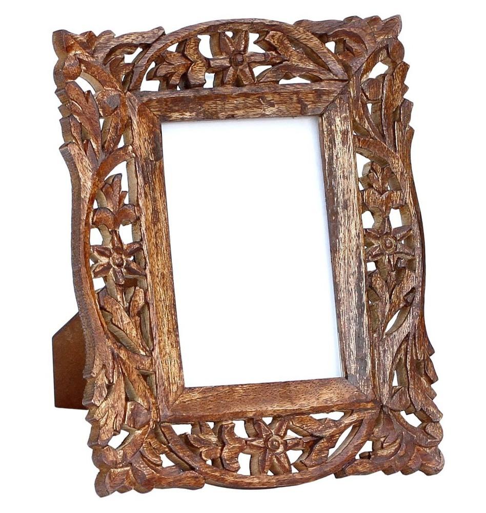 Wooden Photo Frame in Jali Work