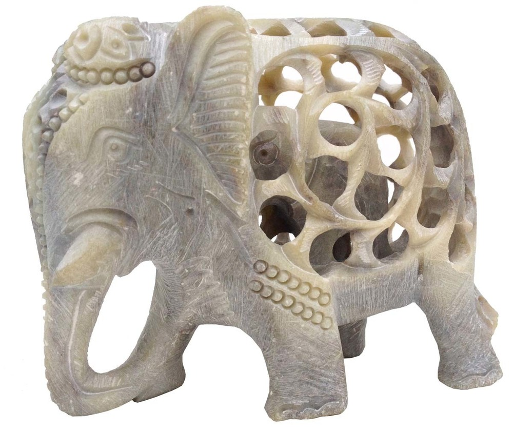 Soapstone Statue of Elephant