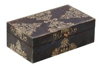Wooden Black Jewellery Box