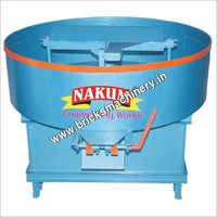Pan Mixer Machine