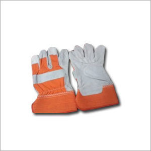 New Leather Safety Gloves