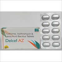 Delcef-AZ Tablet