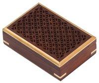 Rectangular Wood Jewelry Box