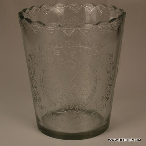 Cut Glass T-Light Candle