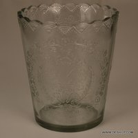 Cut Glass T-Light Candle