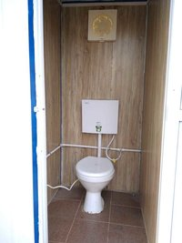 Portable Toilet Unit with Urinal