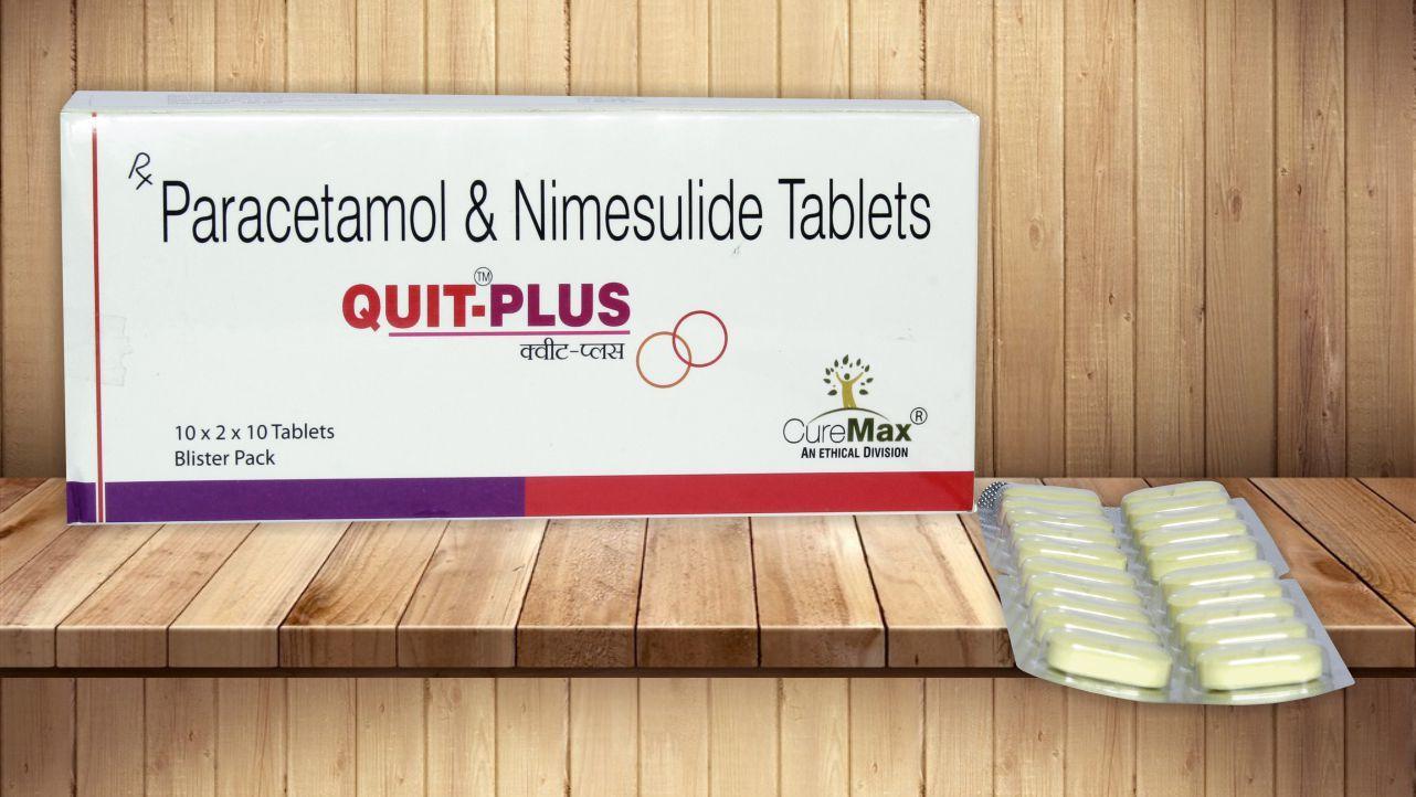 Nimesulide 100 mg & Paracetamol 325 Mg Tablets