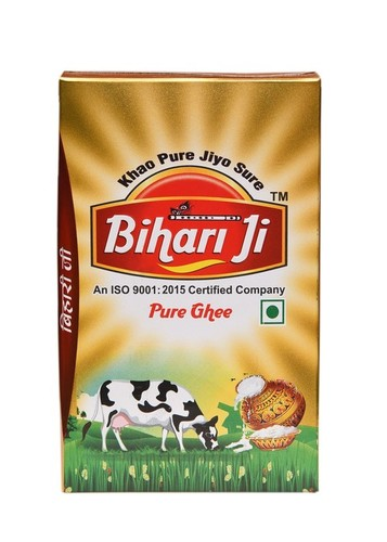 Bihari ji Pure Desi Ghee 1 ltr Tetra Pack