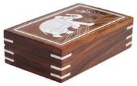 Wooden Rectangular Trinket Box