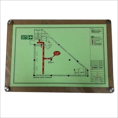 Emergency Fire Escape Route Plan