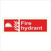 Fire Hydrant Safety Signage