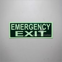 Fire Emergency Exit Safety Signs
