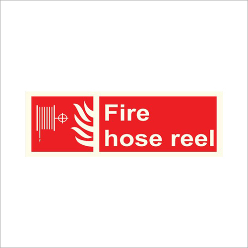 Fire Hydrant Reel Safety Signage