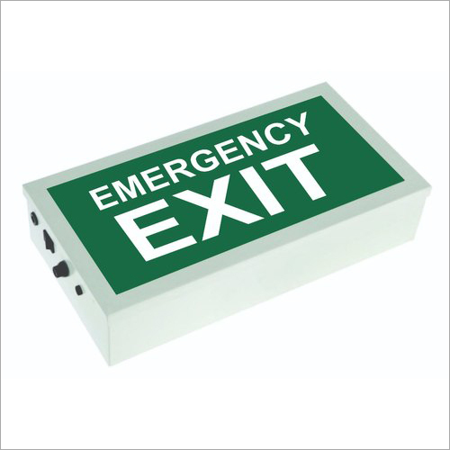 LED Emergency Exit Sign Board