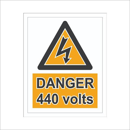 Warning Safety Signages