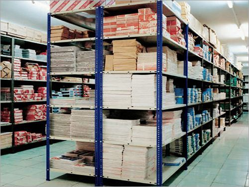 SLOTTED ANGLE WAREHOUSE RACKS