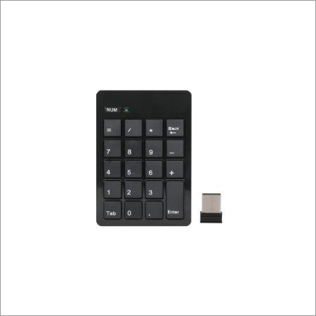 Chocolate Numeric Keypad (Wireless)