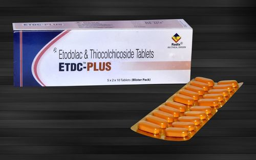 Etodolac 300 Mg & Thiocolchicoside 4 Mg