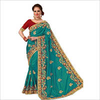 Designer Stone Work Saree