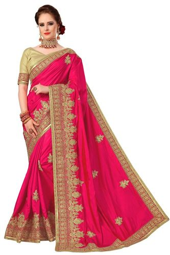 Designer Embroidered Wedding Saree